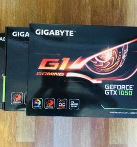 Новая Gygabyte GTX 1050 G1 Gaming 2G
