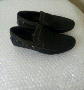 Детские туфли-мокасины