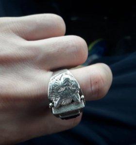 Печатка мужская серебреная