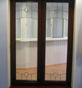 Деревянные окна со стеклопакетом для дачи