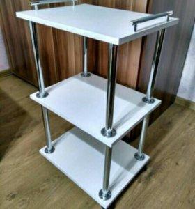 Стол для косметолога на колесиках