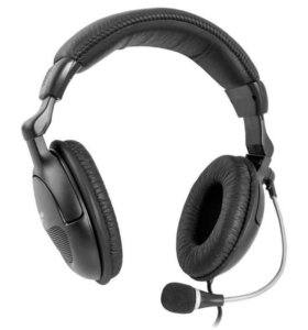 Наушники б/у Defender HN-898 с микрофоном