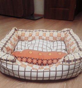 Лежак для кошки,новый