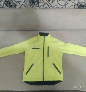 Куртка от лыжного разминочного костюма, размер 48