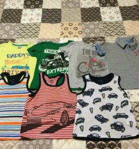 Детские футболки 86-92 размер