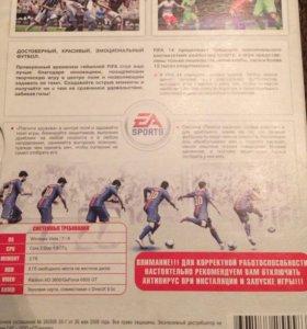 Игровой диск на ПК «FIFA 14»