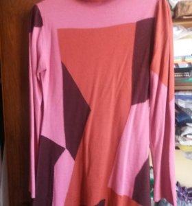 Платье туника графика р 44 46