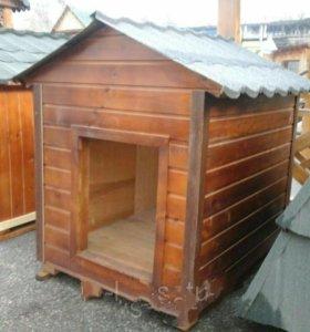 Изготовление будок для собак