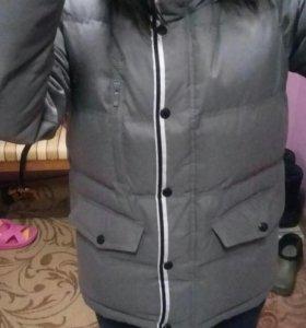 Куртка зимняя Адидас Ориджинал