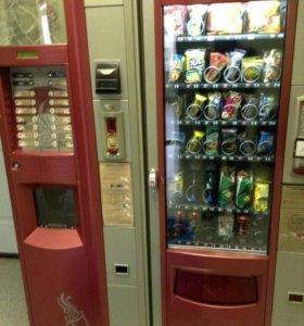 Кофейные автоматы и снэки