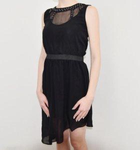 Платье с сеткой Cropp