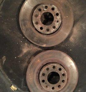 Audi a4 b5 диски тормозные.