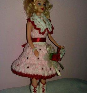 """Кукла одежда """"Авторская работа """""""