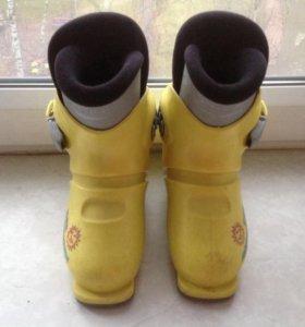 Детские горнолыжные ботинки 254 мм