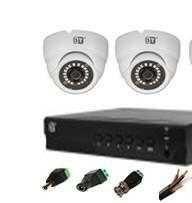 Комплект видеонаблюдения + жесткий диск