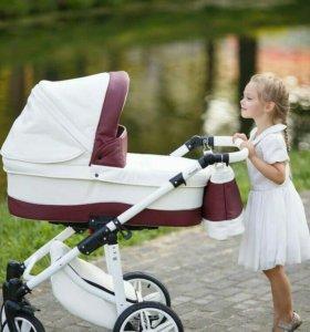 Детская коляска крутая!!