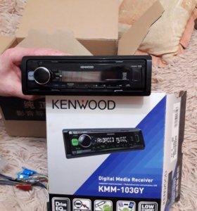 Автомагнитола KENWOOD KMM-103