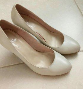 Туфли - натуральная кожа - 36 р.