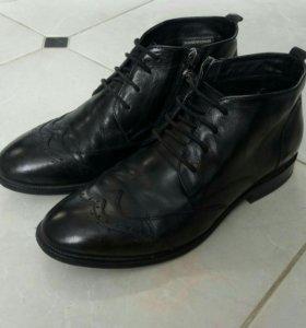 Ботинки - натуральная кожа - 35 р.