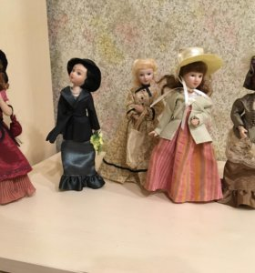Коллекционные куклы из фарфора