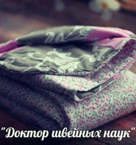 """Лоскутное одеялко """"Летний дождик"""""""