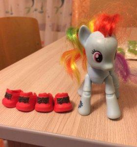 Little pony Радуга