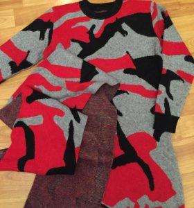 Туника + шарф