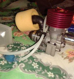 Новый двигатель на нитрометане