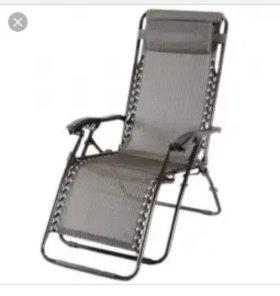 кресло-шезлонг 2 шт
