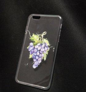 Силиконовый чехол на iphone 6s plus