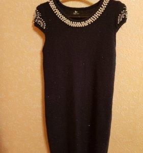 Туника-платье (вязаное)