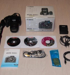 Canon EOS 1000D kit 18-55