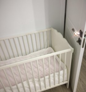 Ikea Белая кроватка