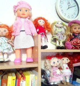 Коллекционные куклы ручной работы и ёлочные куклы