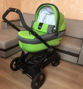 Коляска Люлька Peg Perego Book Plus Black Mentha