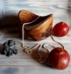 Деревянная посуда для уютного интерера