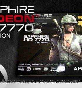 Видеокарта в упаковке, Radeon HD 7770