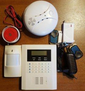 Беспроводная GSM сигнализация.