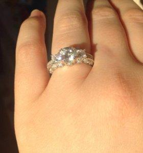 Кольцо,серебро