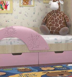 """Детская кровать """"Vitamin 7"""" розовая"""
