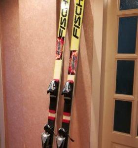Горные лыжи Fischer rc4
