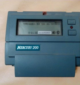 Счетчик Меркурий 200 двухтарифный