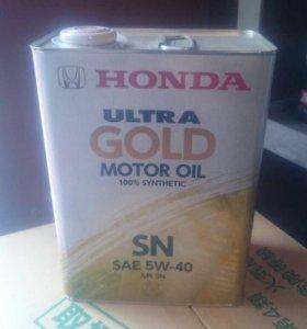Масло моторное Honda Ultra GOLD SN 5W40(4л)