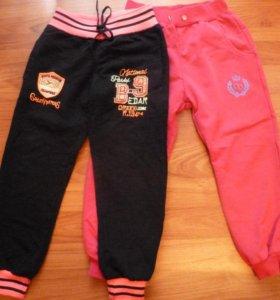 Спортивные брюки для девочки 2-4 лет