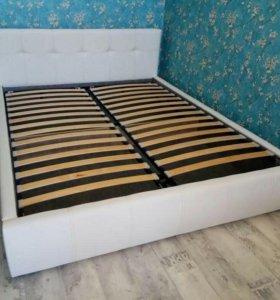 Новая кровать Кожа с подъемным механизмом