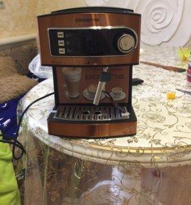 Новая кофеварка рожкового типа