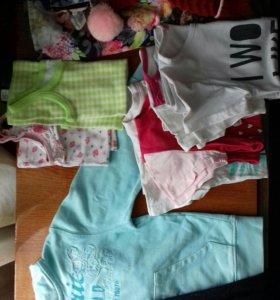 Одежда для девочки 4-6 лет в дар
