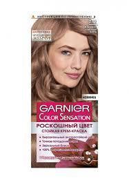 Новая краска для волос Garnier 7.12