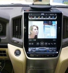 "Новинка 12""Navi центр Toyota Land Cruiser 200 2016"