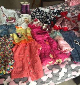 Пакет вещей на девочку 2-3лет